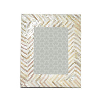 Chevron Tile Picture Frame