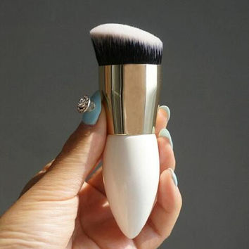 Portable 1 PC Pro Foundation Face Powder Brush Blush Makeup Cosmetic Tool