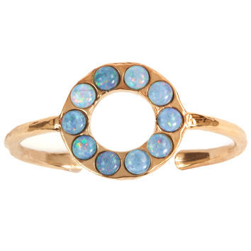 Circlet Cabochon Cuff - Kelly Wearstler
