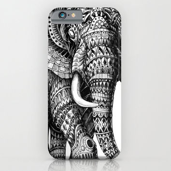 Tribal Elephant Cell Phone Case