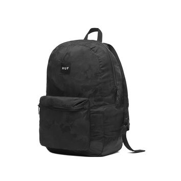 HUF - HUF PACKABLE BACKPACK \\ BLACK - HUFWorldwide.com