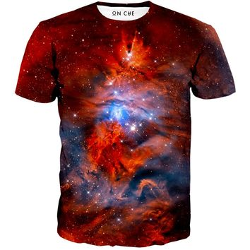 Red Nebula T-Shirt