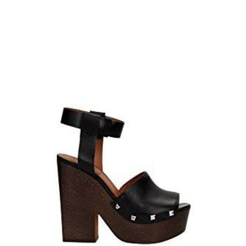Givenchy Women's Calf Leather Mules - Clogs Shoes