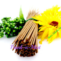 Frankincense and Peppermint Incense Sticks Handmade Aroma Therapy Candles Home Decor Scents Fragrance Essential Oils Organic