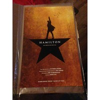 Hamilton The Musical Poster - Signed