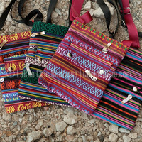 TRIBAL PRINT CROSSBODY