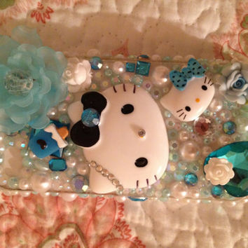 Hello Kitty Deco Den Kawaii Iphone 4/ 4s Case by ipat3331 on Etsy