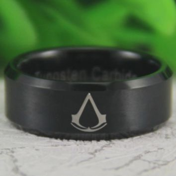 The Brotherhood Ring - Tungsten Carbide