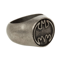 DC Comics Batman Logo Ring