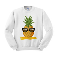 Pineapple Man Crewneck Sweatshirt