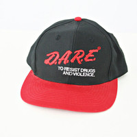 vintage 90s DARE to resist DRUGS and by PasseNouveauVintage