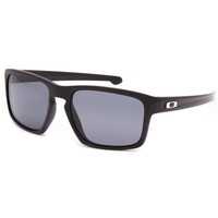 Oakley Sliver Sunglasses Black/Grey One Size For Men 25774912701