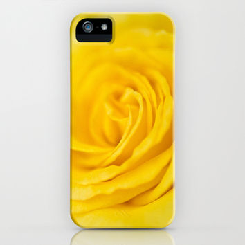 Yellow Rose of Texas iPhone & iPod Case by Bruce Stanfield