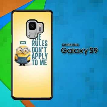 A Cute Collection Of Minions X4269 Samsung Galaxy S9 Case