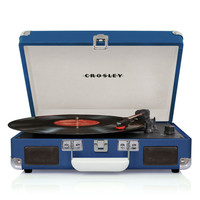 Crosley Cruiser 3-Speed Portable Turntable at Brookstone—Buy Now!