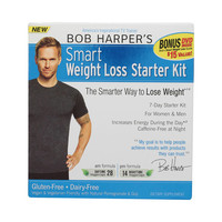 Bob Harper Smart Success Products - Weight Loss Pack Starter Kit - 42 Vegetarian Caplets 28 Daytime and 14 Nighttime