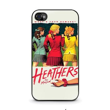 HEATHERS BROADWAY MUSICAL iPhone 4 / 4S Case Cover