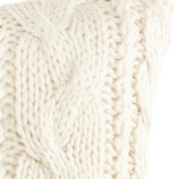 H&M - Knit Cushion Cover - White