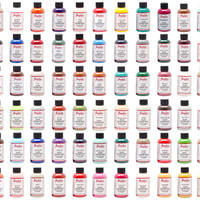 Angelus Acrylic Leather Paint 4 oz All Colors 1 bottle