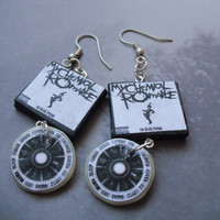 My Chemical Romance The Black Parade album earrings by CharmaLlama