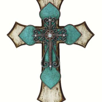 Cowgirl Kim Distressed Triple Cross