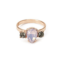 Clustered Faux Stone Ring