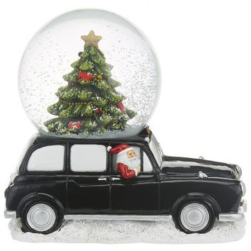 London taxi Santa snow globe - NEW - Gift Ideas - New In