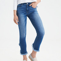AE Ne(X)t Level High-Waisted Jegging Crop, Blooming Bright Blue