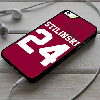 Stiles Stilinski 24 Jersey Teen Wolf iPhone 6 | 6 Plus Case Dollarscase.com