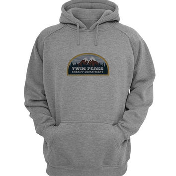 twin peaks Hoodie Sweatshirt Sweater Shirt Gray for Unisex size with variant colour