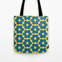 Keyline cubes Tote Bag by g-man