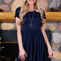 Shop Priceless Reese Dress - Navy