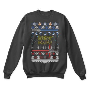 AUGUAU Best Christmas Ever Star Wars Ugly Sweater