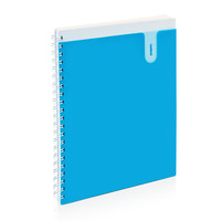 Pool Blue One Subject Pocket Spiral Notebook | Spiral Notebooks | Poppin