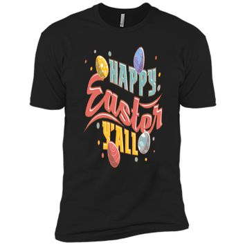 Easter Tshirts Outfits For Women Men Kids Happy Easter YAll Next Level Premium Short Sleeve Tee