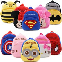 Cartoon Backpacks