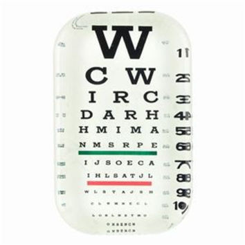 Eye Chart Paper Weight