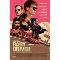 Baby Driver poster 24 inches x 36 inches