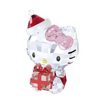 Swarovski Crystal Christmas Figurine HELLO KITTY CHRISTMAS GIFT -5058065