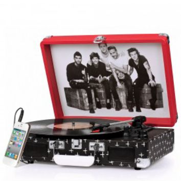 Crosley Cruiser Retro Turntable CR8005A-OD - It's Portable! - One Direction Limited Edition