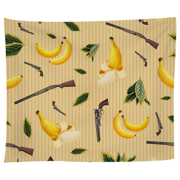 Wild West Gone Bananas Tapestry