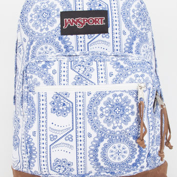 Jansport Right Pack Swedish Lace Backpack White One Size For Women 26904916701