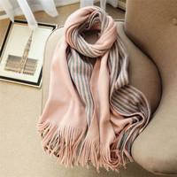 Stripes Asymmetrical Scarf