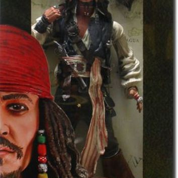 Pirates of the Caribbean Jack Sparrow 18`` Action Figure