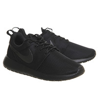 Nike Roshe Run Black Black Anthracite - Unisex Sports