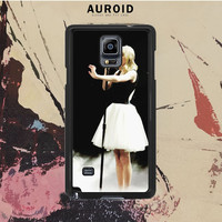 Canada Girl Singer Singing Samsung Galaxy Note 3 Case Auroid