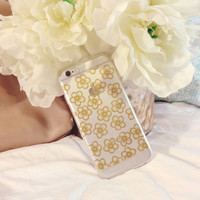 Flower Child - Clear Silicone iPhone 6 Case