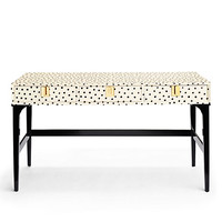 Kate Spade Downing Desk Black/White ONE
