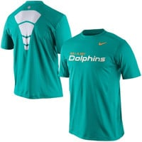 Mens Nike Aqua Miami Dolphins Hypercool Speed Performance T-Shirt