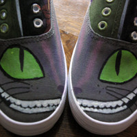 Cheshire Cat Shoes - Glowing Grin and Eyes